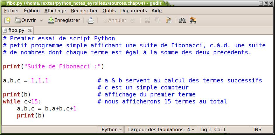 apprendre  u00e0 programmer avec python 3